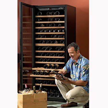 Transtherm Bastide Glass Door Wine Cellar Black 4380 By Transtherm 2395 00 Ultra Quiet Low Vibration Design Digital L Wine Cellar Solid Doors Glass Door