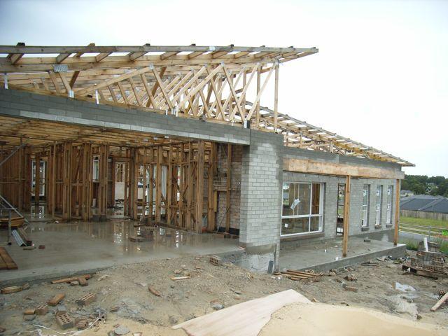 Brick work stage. www.propertybloom.com.au
