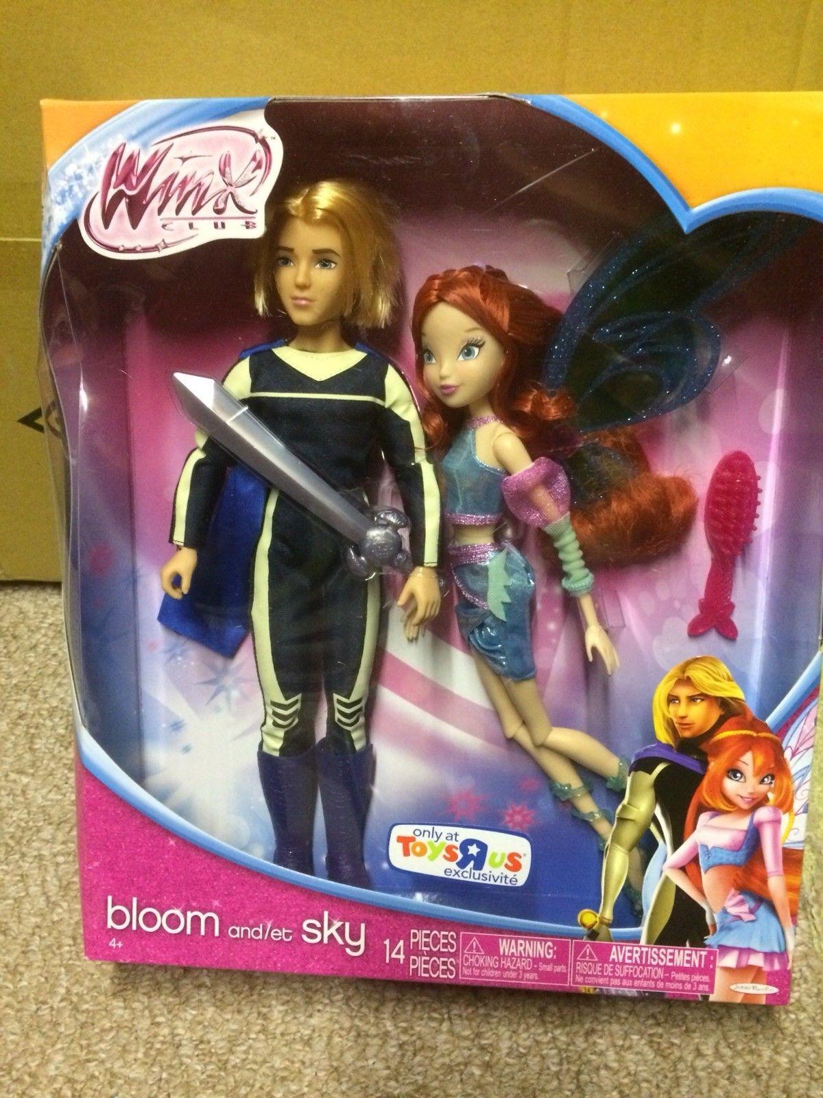 кукла блум и скай