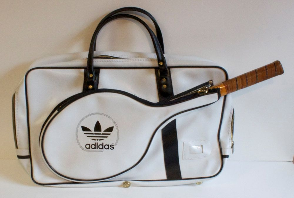 Vintage 70s Adidas Tennis Raquetball Bag Adidas Tennis Vintage Adidas Tennis Bag