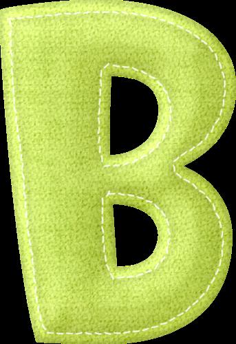 Lindo Alfabeto en Diferentes Colores Pastel.