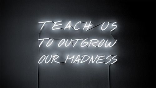 this isn't happiness. Neon quotes, Street art artists