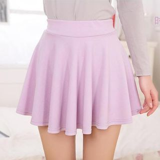 Buy Cotton Dream Elastic Waist A-Line Skirt at YesStyle.com! Quality products at remarkable prices. FREE WORLDWIDE SHIPPING on orders over US$35.