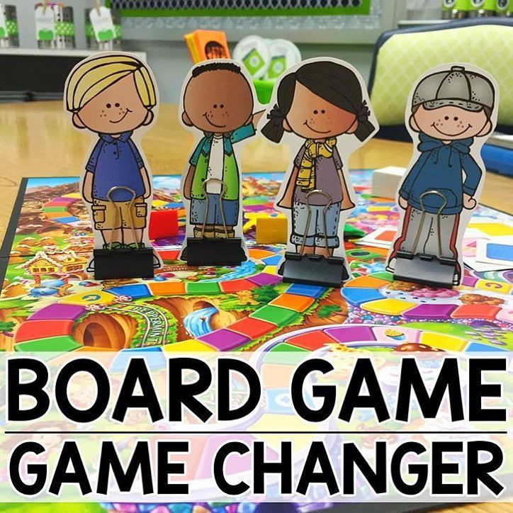 """Amber on Instagram: """"Do your students fight over game pieces?! @aperfectblendteaching made game pieces for each of her students using @melonheadzillustrating…"""""""