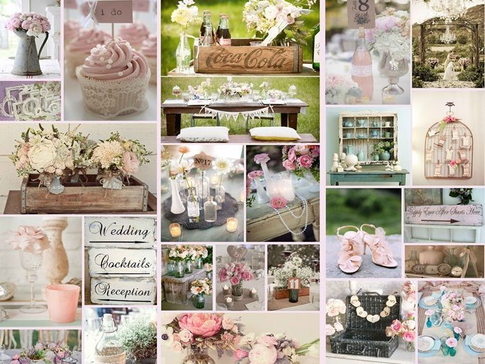 Romantic Design Chic Wedding Theme