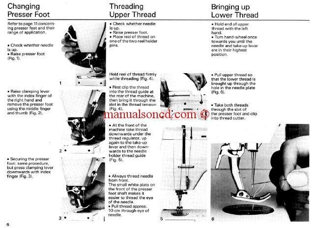Bernina 801 802 803 Sport Sewing Machine Instruction Manual Sewing Machine Instruction Manuals Sewing Machine Instructions Sewing Machine