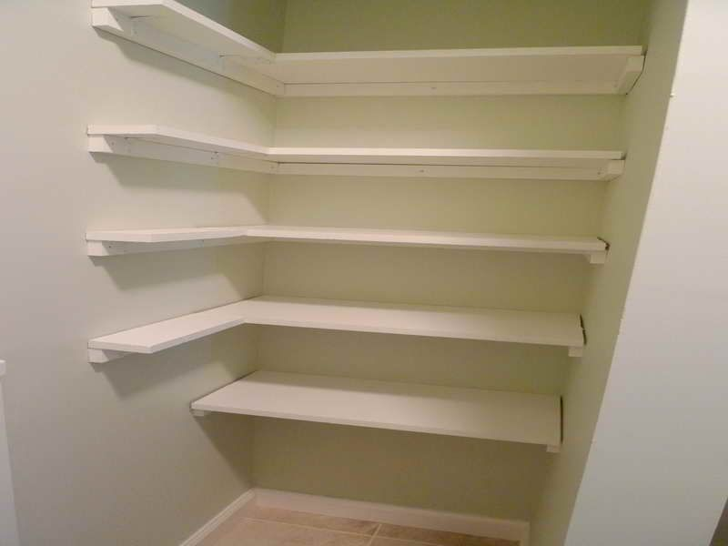 Pantry Shelving Plans Design Ideas Corner White Pantry Shelving Pantry Pinterest