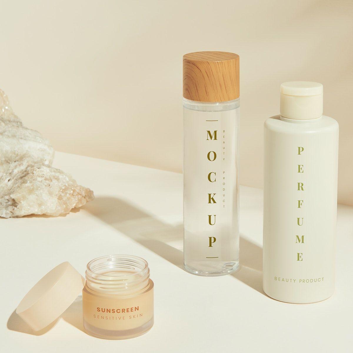 Download Premium Psd Of Set Of Skin Care Package Mockup Design 2365329 Cosmetics Mockup Cosmetic Packaging Design Skin Care Packaging