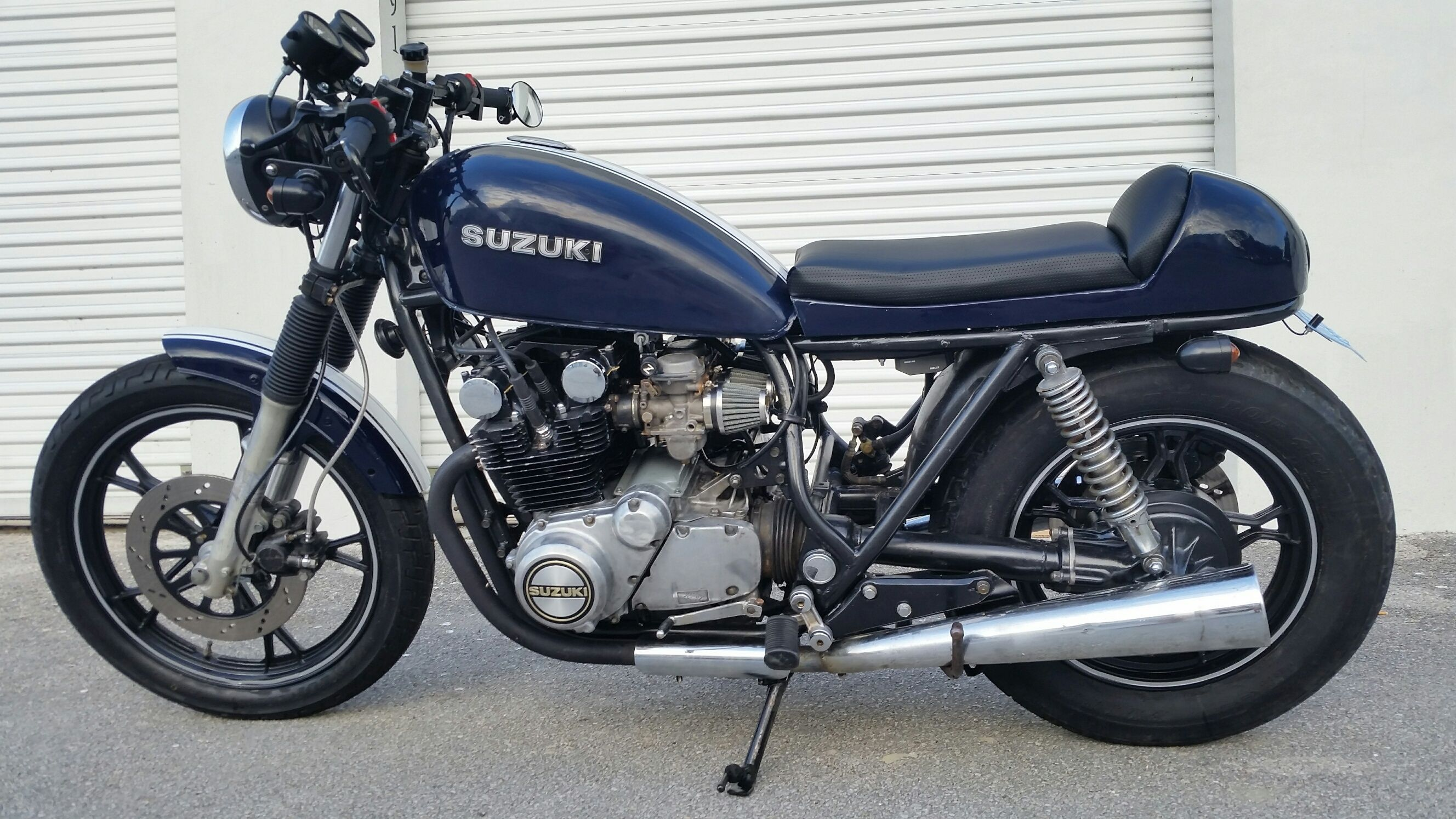 The best F******Ing Suzuki GS650 Cafe Racer ever  | You wish