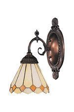 Landmark 071-TB-05 Mix-N-Match One Light Sconce in Tiffany Bronze