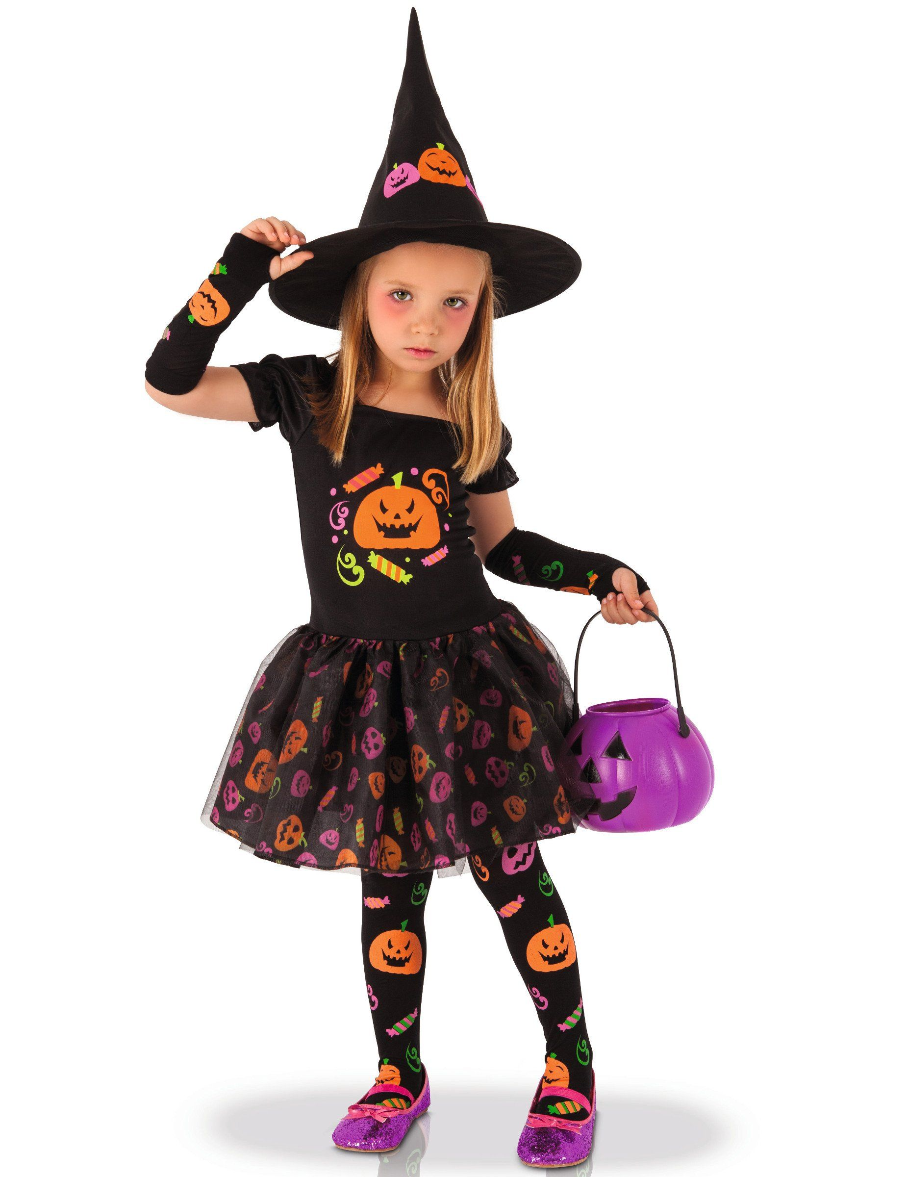 Rubies Disfraz infantil bruja Candy Disfraz de bruja
