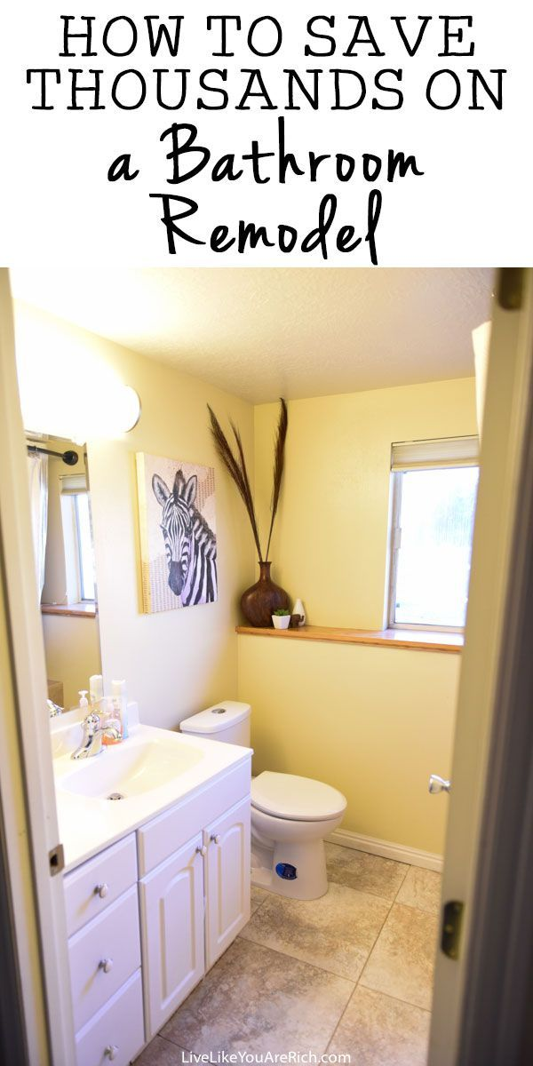 how to save thousands on a bathroom remodel budget bathroom
