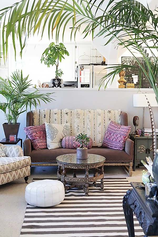 Bohemian Chic Living Rooms-02-1 Kindesign