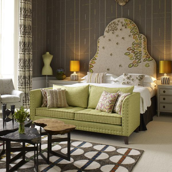 kit kemp interior design - 1000+ images about My mbroidered cushions and Headboards on ...