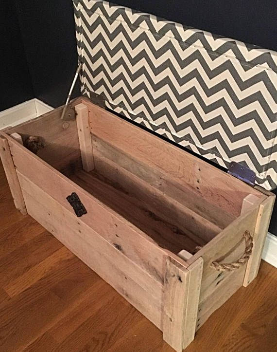 Hope Chest Toy Box Entryway Bench Storage Bench Cushioned Bench Storage Chest 34 X15 X18 The Pioneer Entryway Bench Storage Wooden Diy Hope Chest