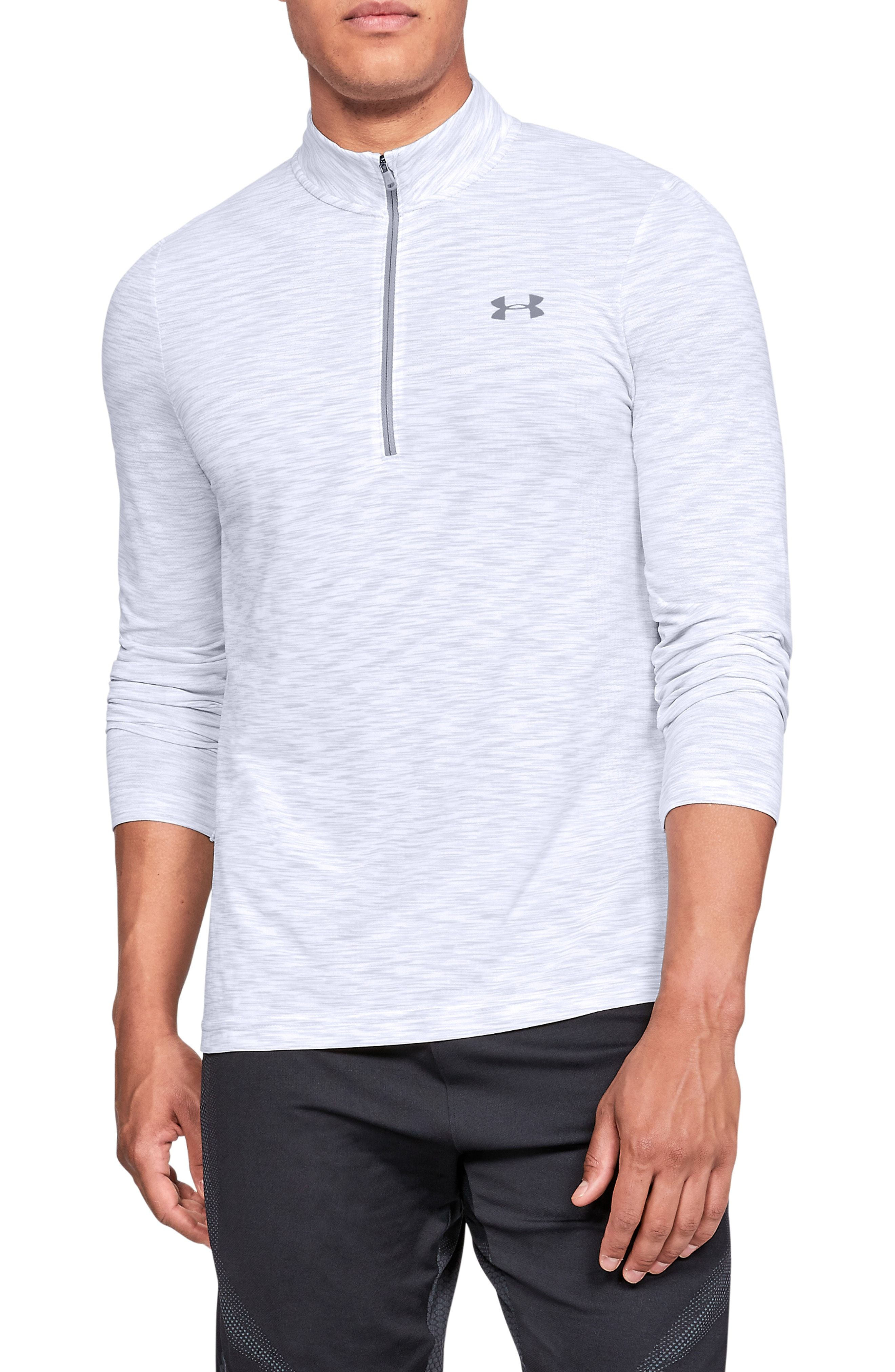f40a55a6 UNDER ARMOUR SIPHON REGULAR FIT HALF-ZIP PULLOVER. #underarmour #cloth