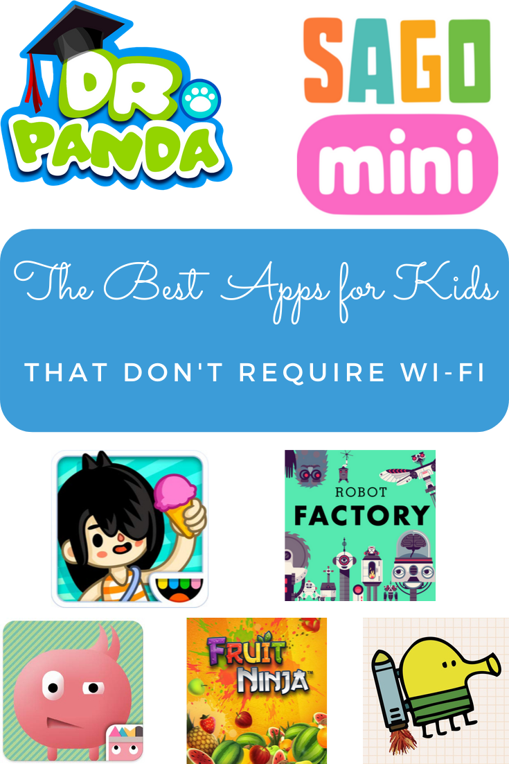 The Best Apps for Kids That Don't Require WiFi Kids app