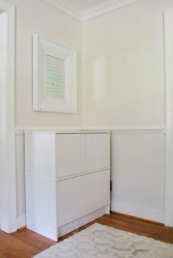 Adding Hardware To An Ikea Cabinet And Hiding The Printer Young House Love Buy Office Furniture Office Furniture Decor Ikea Filing Cabinet