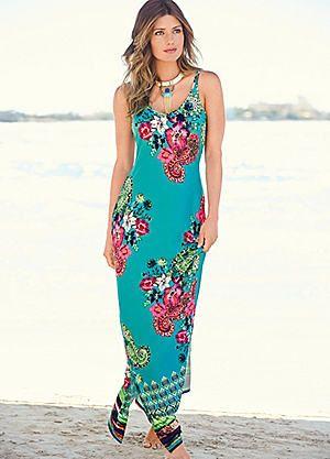 Floral & Paisley Print Maxi Dress #kaleidoscope #wedding #abroad ...