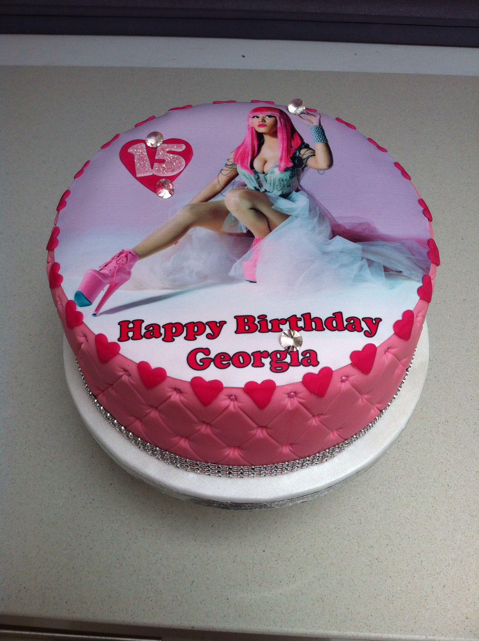 Wondrous Nicky Minaj Cake Cake Amazing Cakes Nicki Minaj Birthday Personalised Birthday Cards Paralily Jamesorg
