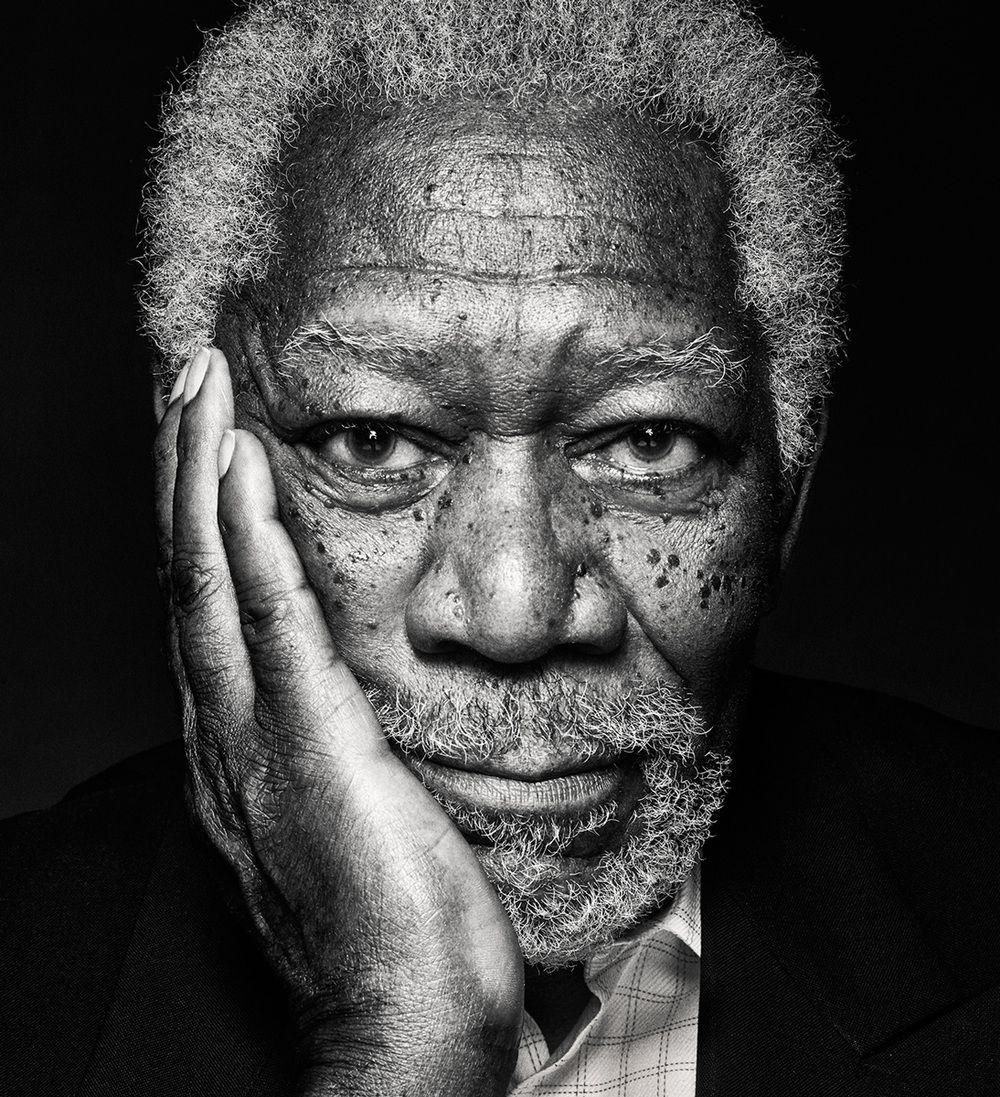Morgan Freeman Portrait Photography Men Black And White Photography Portraits Portrait