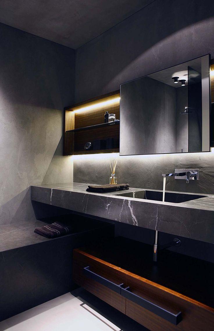 Meer dan 1000 ideeën over leisteen tegels in de badkamers op ...
