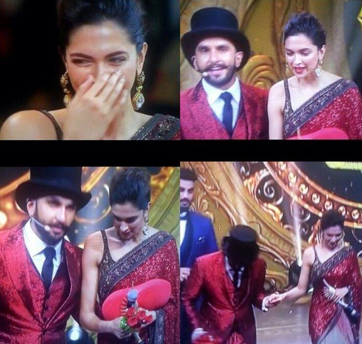 Ranveer Amp Deepika A Www Moments On Iifa2015 Stage Ranveer Singh Deepika Padukone Ranveer Singh Cute Couples