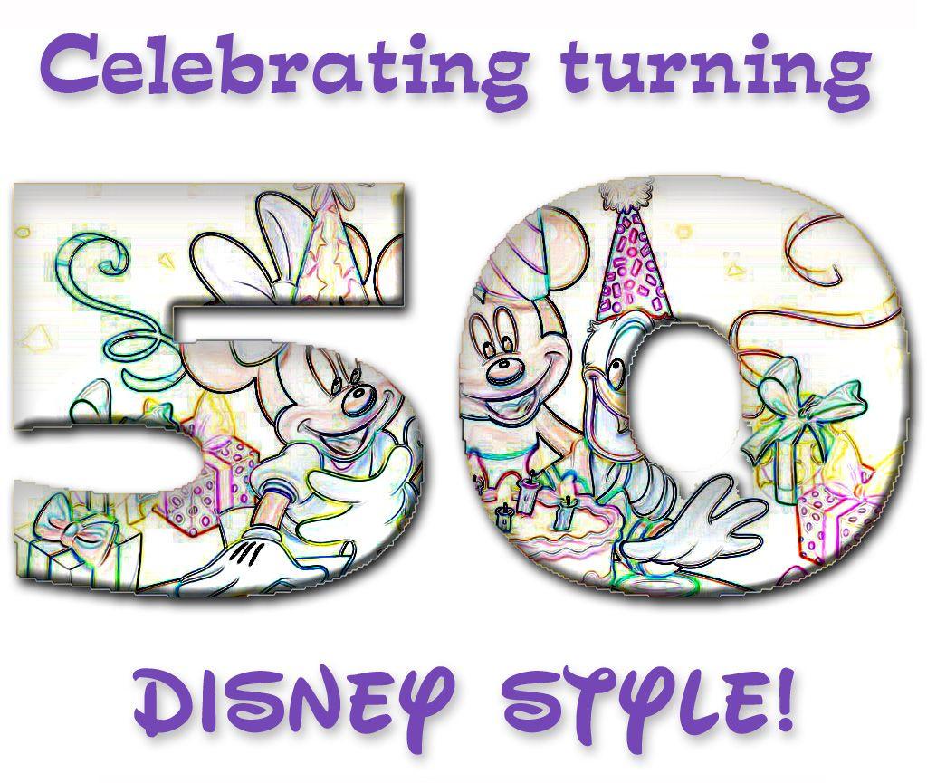 Disney 50th Birthday Shirt For Mom