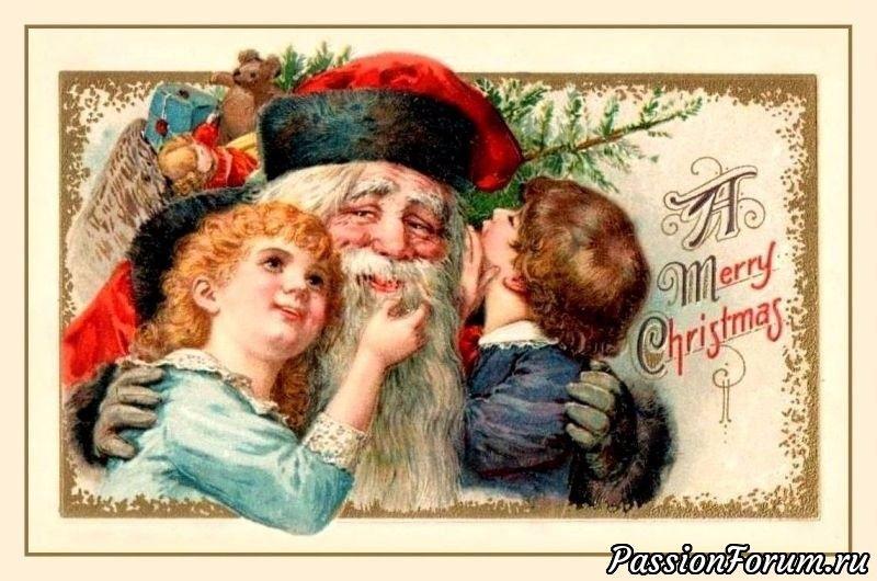 Картинки, традиция поздравительной открытки