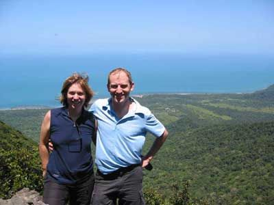 Hiking Mount Sorrow Trail at Cape Tribulation Daintree bushwalking