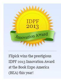 IDPF 2013 Innovation Award