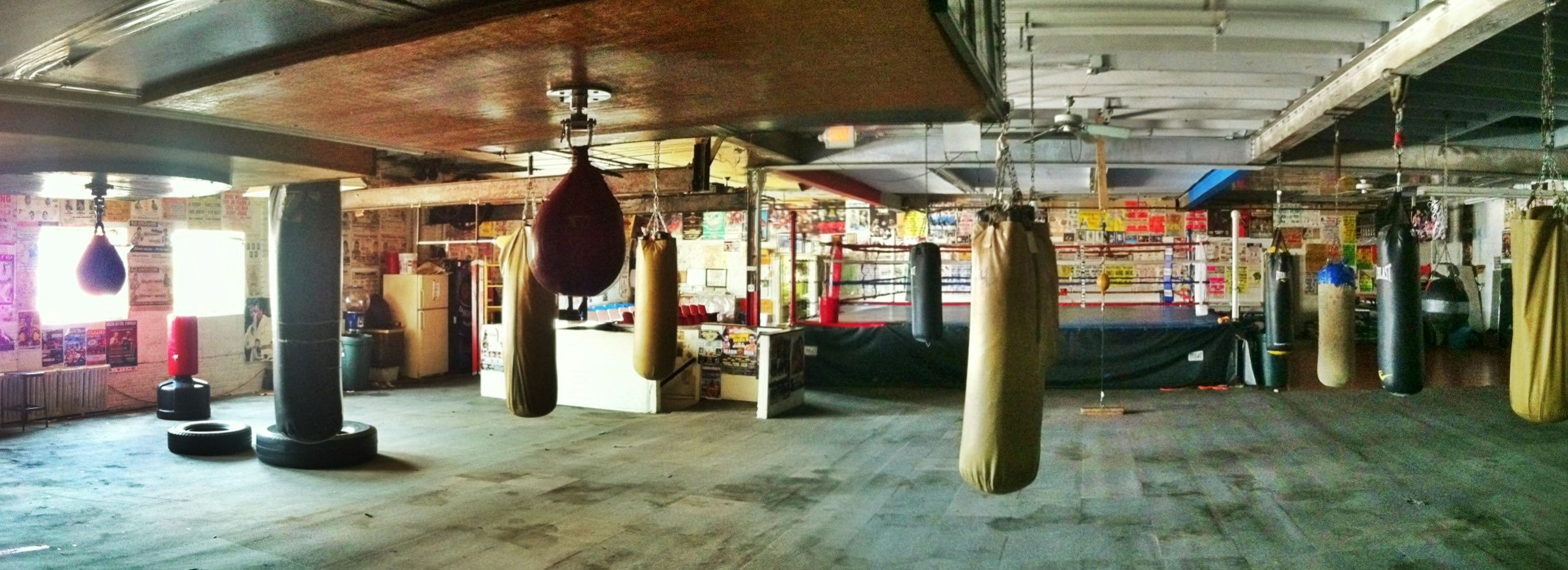 The Business Office At Philadelphia S Front Street Gym Boxing Gym Wide Screen Front Street