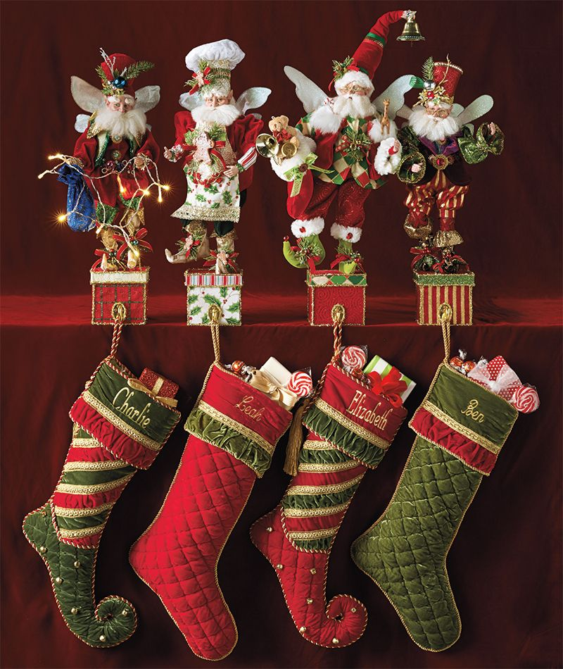 The Mark Roberts 2014 Collection Pure Serendipity Christmas Stockings Christmas Christmas
