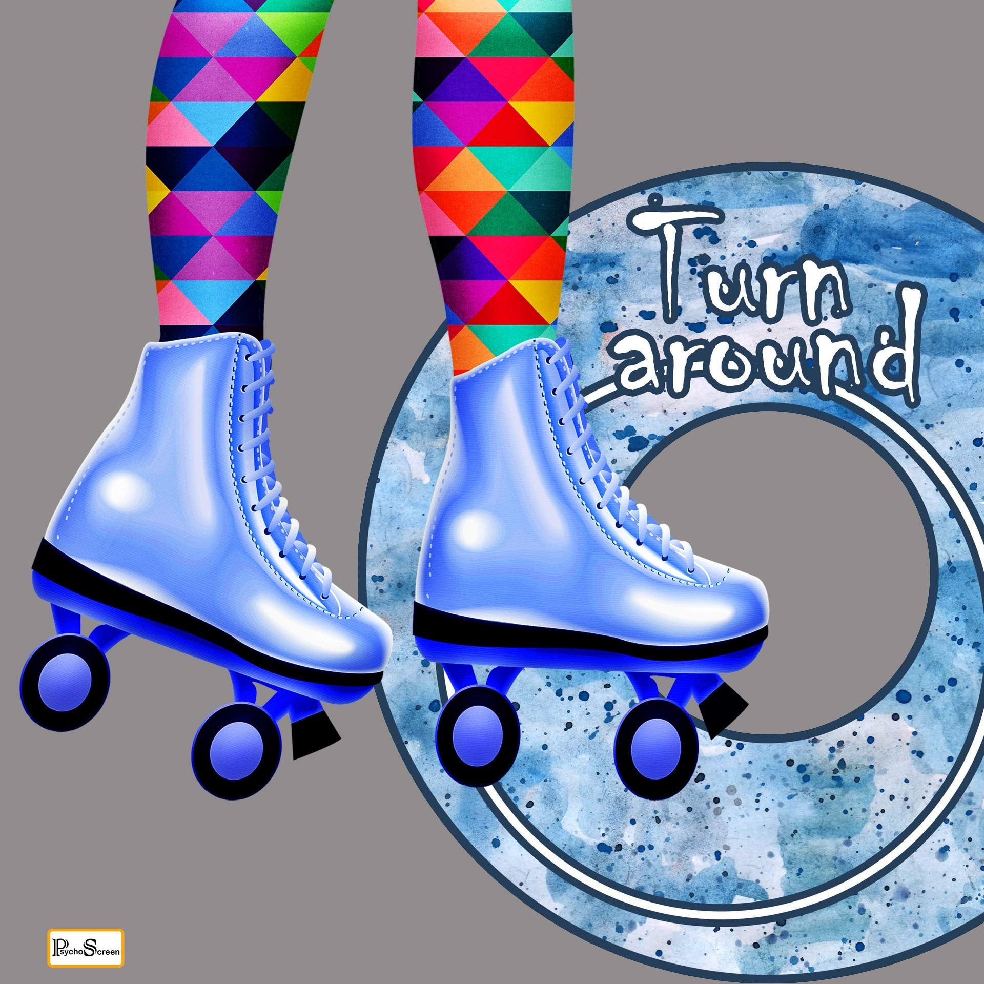 Funny Rings for outdoor game, printable for Roller skates