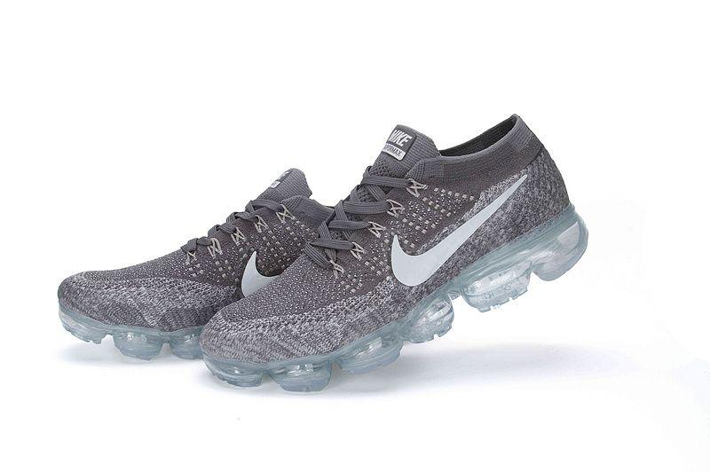 Nike Air Vapormax Flyknit 2018 Grey Wholesale Nike Shoes Nike Shoes Air Max Nike Air Shoes
