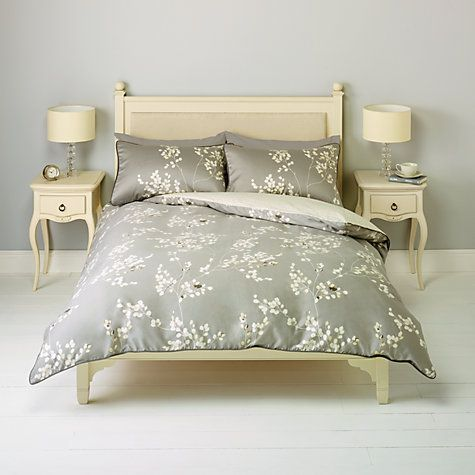 Johnlewis Gabriella Fl Bedding Natural From 10 A Stunning Contemporary Double Duvet Coversduvet