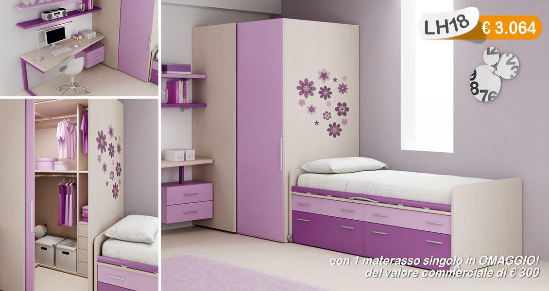Camerette Salerno ~ Magic house moretti camerette design arredamento