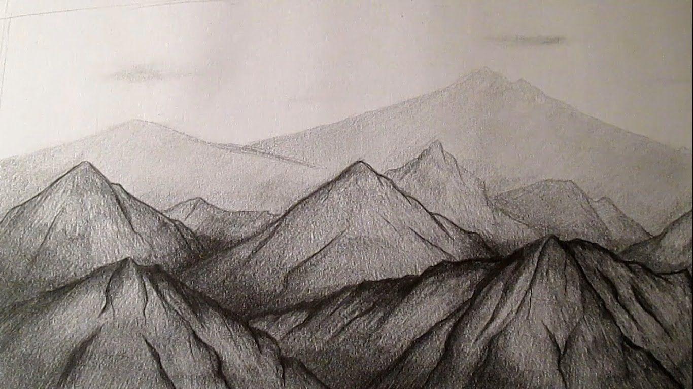 Como Dibujar Montanas A Lapiz Como Dibujar Paisajes A Lapiz Hd Paisaje A Lapiz Como Dibujar Montanas Paisajes Dibujos