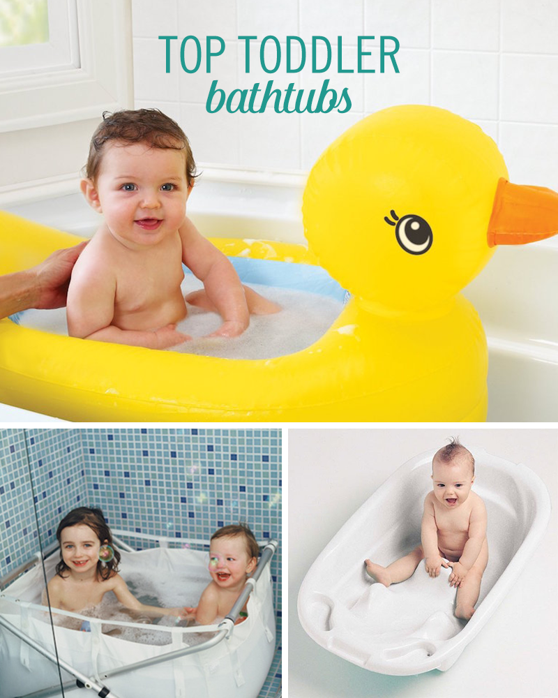 When looking for a bathtub suitable for toddlers, the options aren\'t ...