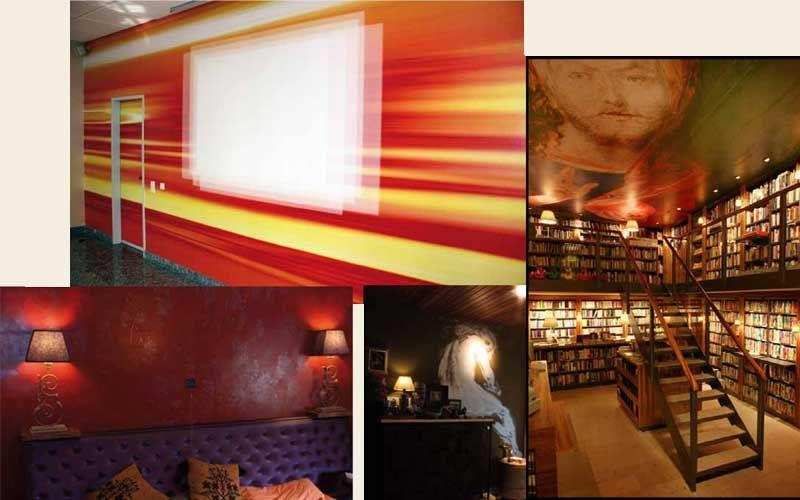 Elegant Studio Rosner: Wand Und Deckengestaltung STABILO Korn U0026 Berg Univ.  Buchhandlung