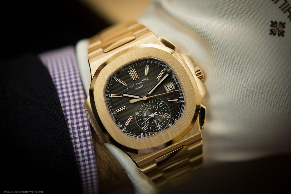 Patek Philippe Nautilus Gold Bracelet