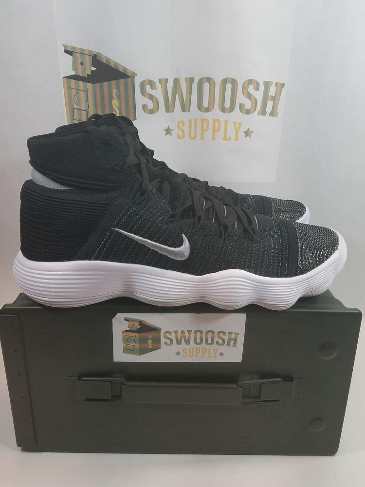 the best attitude b2a7c cf6aa Nike Hyperdunk Flyknit 2017 Mens Shoe Size 11 Black Metallic Silver 917726  001  Nike  BasketballShoes