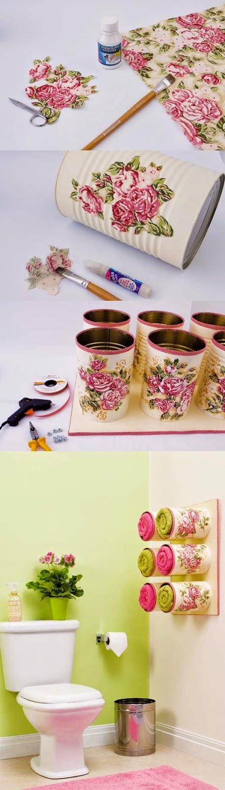 Riciclare i barattoli di latta tutorial dal web idee for Idee per casa nuova