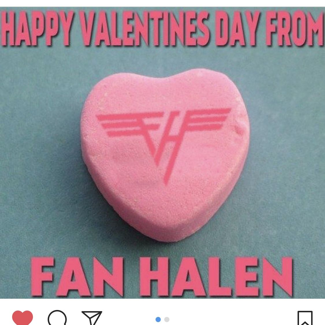 Van Halen Valentines Van Halen Halen Valentines