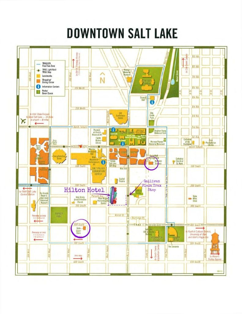 Cookie Con SLC Map3 | Cake Servings | Salt lake city map ...