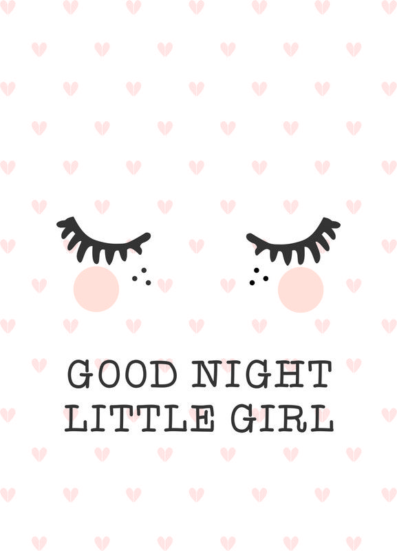 Poster Goodnight A3