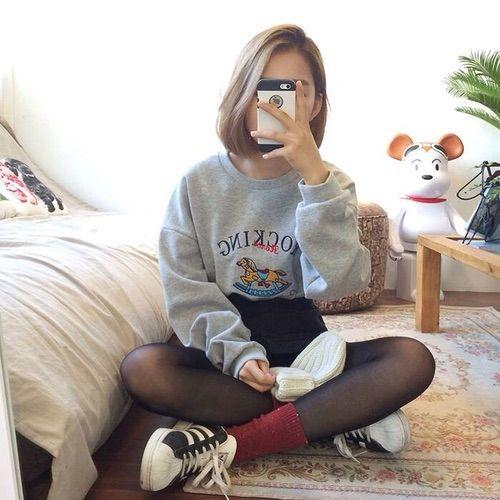 Image via We Heart It #asianfashion #clothes #fashion #koreafashion #style #kfashion #asianstyle #koreastyle