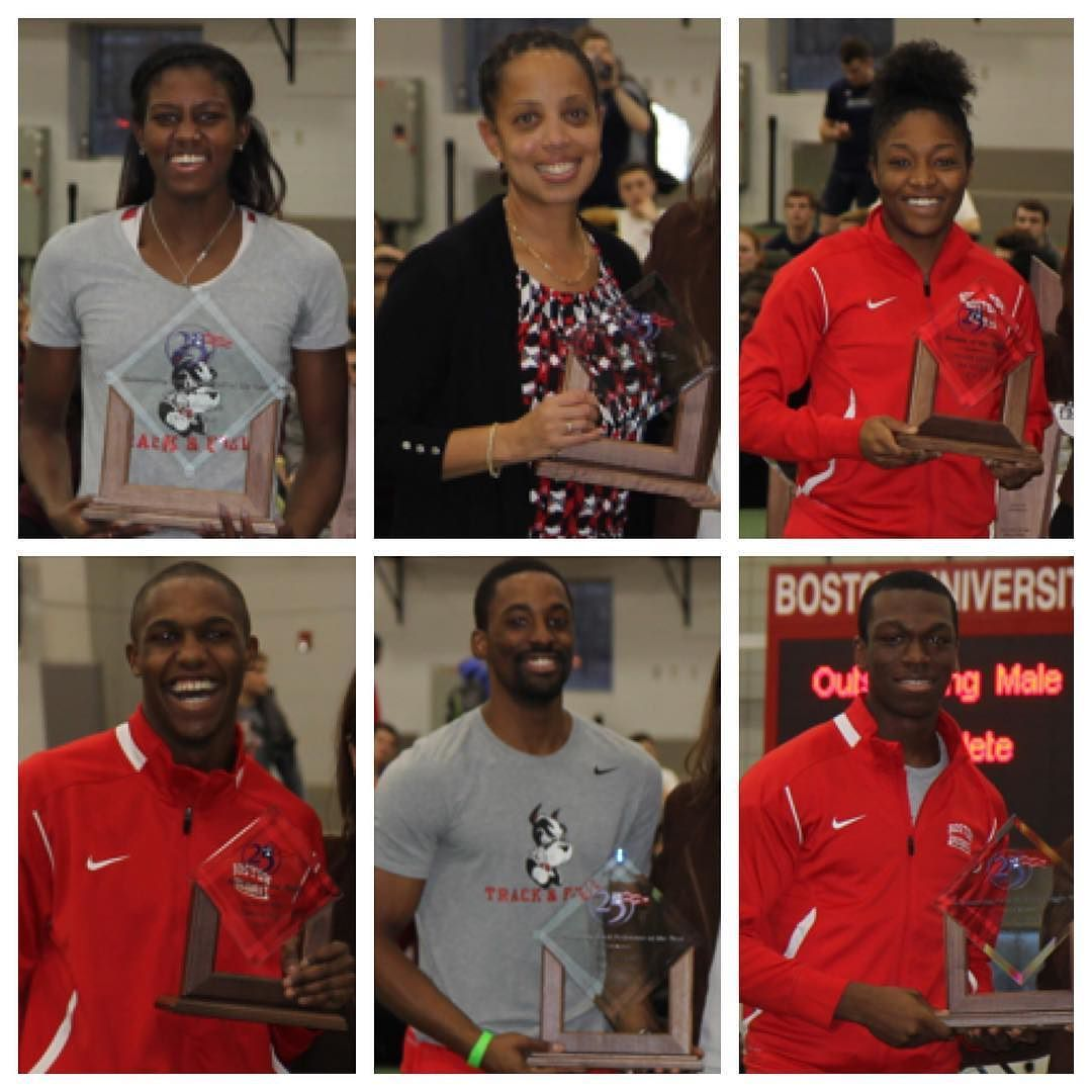 For further proof of an impressive weekend BU track and