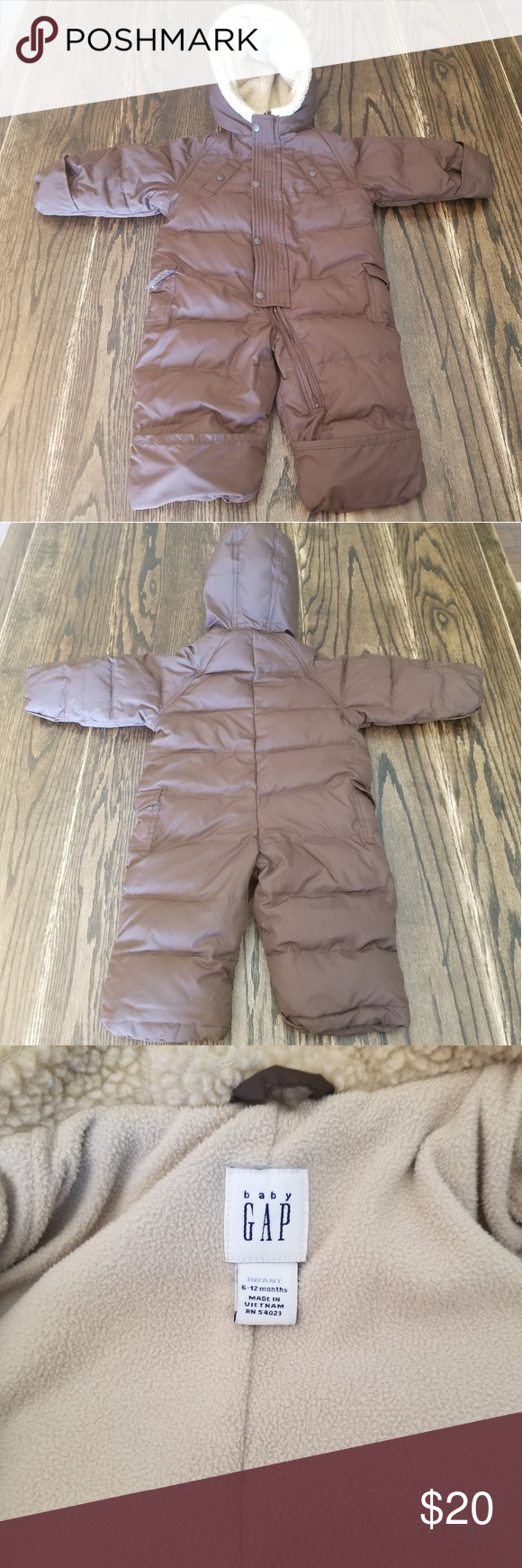 Baby GAP Snowsuit   Snow suit, Baby gap, Clothes design