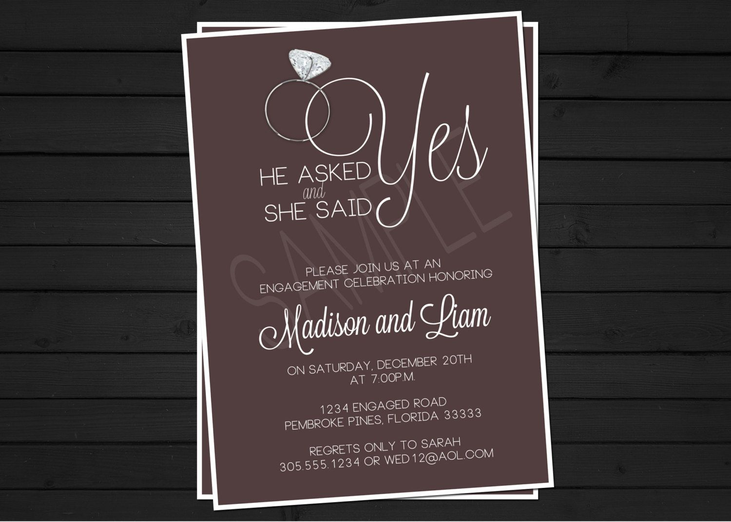 17 Best images about engagement invitations – Engagement Party Invitations Uk